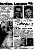 Western Washington Collegian - 1957 March 1