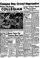 Western Washington Collegian - 1954 May 28