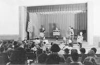 1943 Children Sharing Their Work In The Auditorium