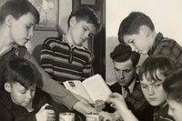1941 Fourth Grade Science Project With Frank Shiers, Student Teacher