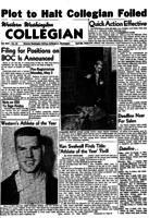 Western Washington Collegian - 1954 April 30