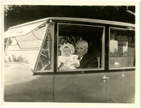 E.B. Deming and Granddaughter
