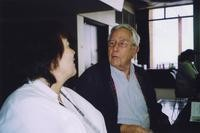 2007 Reunion--Carole Morris visits with George Sharninghouse