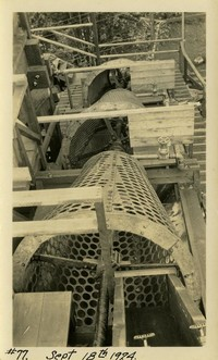 Lower Baker River dam construction 1924-09-18 Sieve