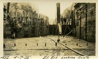 Lower Baker River dam construction 1925-04-07 El. 210 Looking South