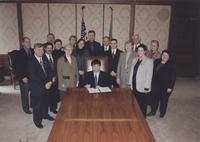 2000 WWU 100th Anniversary Proclamation Signing