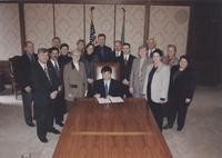 2000 WWU 100th Anniversary Proclamation Signing