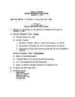 WWU Board minutes 1974 November
