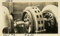 Lower Baker River dam construction 1925-09-06 Unit #2