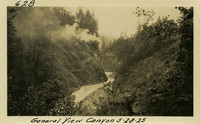 Lower Baker River dam construction 1925-05-28 General View Canyon
