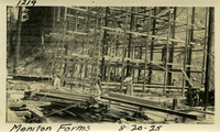 Lower Baker River dam construction 1925-08-20 Monitor Forms
