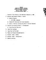 WWU Board minutes 1980 March