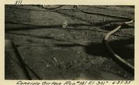 Lower Baker River dam construction 1925-06-22 Concrete Surface Run #141 El.3010