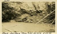 Lower Baker River dam construction 1925-08-23 Rock Surface Run #197 El.379