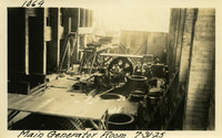 Lower Baker River dam construction 1925-07-31 Main Generator Room