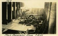 Lower Baker River dam construction 1925-07-31 Main Generator Room
