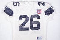 Football Jersey: #26, Jon Brunaugh, 1992/1995