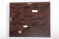 Volleyball (Women's) Plaque: NAIA District 1 Champions (back), 1990