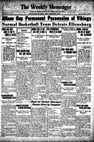Weekly Messenger - 1925 February 27