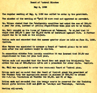 AS Board Minutes 1938-05