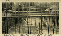 Lower Baker River dam construction 1925-08-04 Reinf Steel Run #181 El.389