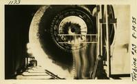Lower Baker River dam construction 1925-08-14 Turbine #2S