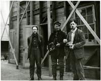 Emrys Morgan, Mr. Carlson and Harry Smith