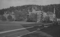 1930 Main Building from Library