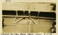 Lower Baker River dam construction 1925-06-11 Screeds for Floor Finish Power House