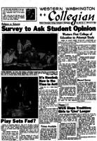 Western Washington Collegian - 1957 February 8