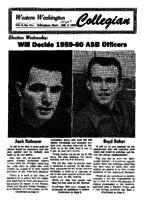 Western Washington Collegian - 1959 March 3