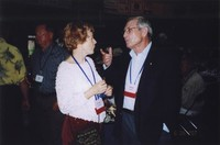 2007 Reunion--Norma Ferris and Danny Beatty at the Banquet