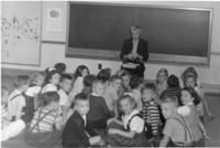 1945 Katherine Casanova In Classroom