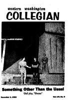 Western Washington Collegian - 1961 December 1