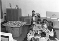 1943 Kindergarten Cooking