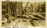 Lower Baker River dam construction 1925-06-07 Power House