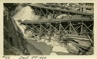 Lower Baker River dam construction 1924-09-02 Railroad
