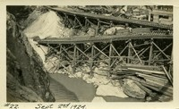 Lower Baker River dam construction 1924-09-02 Railroad