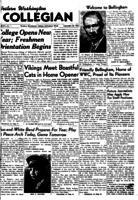 Western Washington Collegian - 1950 September 22
