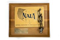 Basketball (Men's) Plaque: NAIA District 1 Champions, 1972