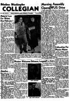 Western Washington Collegian - 1954 January 22