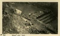 Lower Baker River dam construction 1924-09-24 Restoration of cofferdam