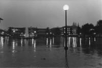 1975 Red Square, raining