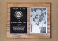 Hall of Fame Plaque: Kim Kolody-Bjorklund, Volleyball (Setter), Class of 2003