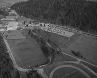1970 Aerial View: South Campus