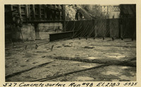 Lower Baker River dam construction 1925-05-09 Concrete Surface Run #98 El.278.3