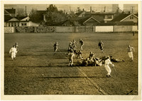 Football game at Battersby Field