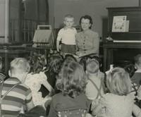 1948 Synva Nicol With Kindergartners