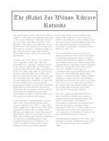 Mabel Zoe Wilson Library Rotunda
