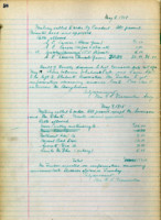 AS Board Minutes - 1918 May